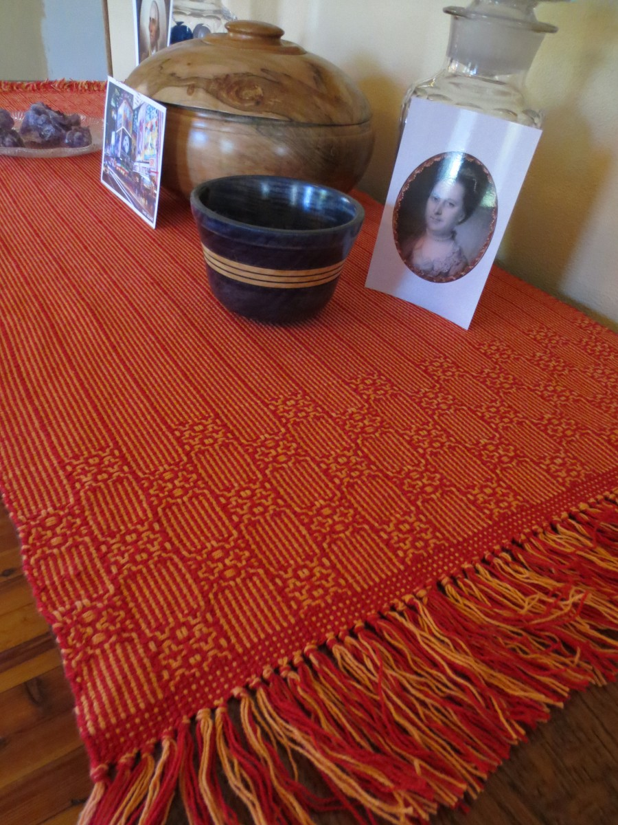 Red Orange Runner - Penny Marsh